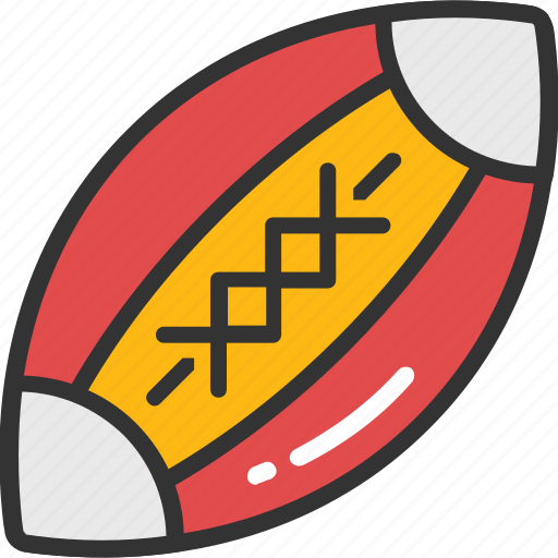 American football, ball, rugby, rugby ball, sports icon - Download on Iconfinder