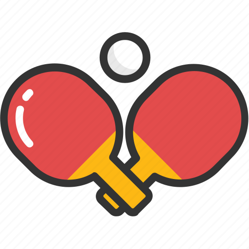 indoor game, ping pong, sports, table tennis, tennis icon