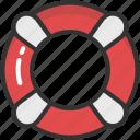 lifebuoy, lifeguard, lifesaver, ring buoy, save guard icon