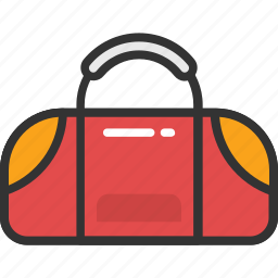 duffle bag, gym bag, holdalls, sports bag, travel bag icon
