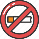 no cigarette, no smoking, quit smoking, smoking forbidden, stop smoking icon