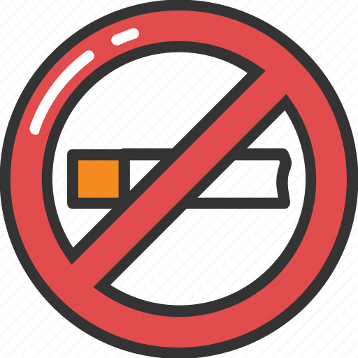 no cigarette, no smoking, quit smoking, smoking forbidden, stop smoking icon
