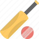 ball sports, bat, cricket, game icon