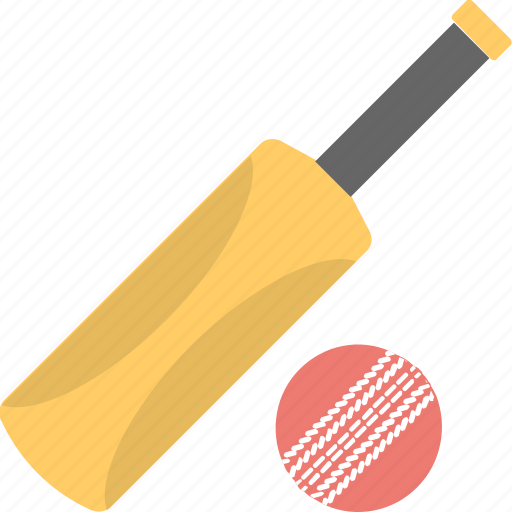 ball sports, bat, cricket, game icon