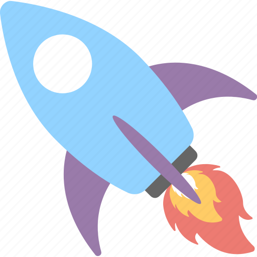 launch, missile, rocket, space, spaceship icon