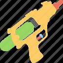 gun, pistol, rifle, toy, toy gun icon
