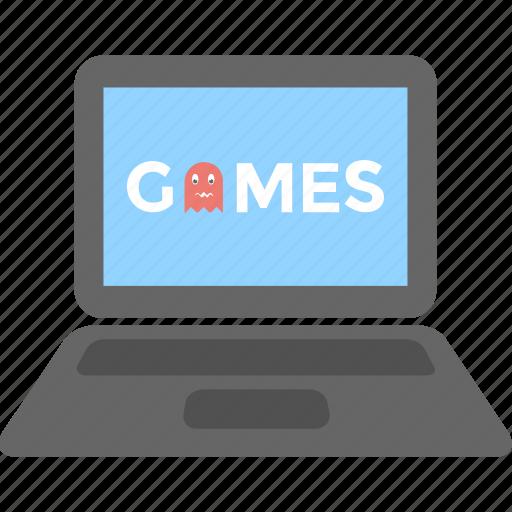 gaming, laptop, online game, pc, videogame icon