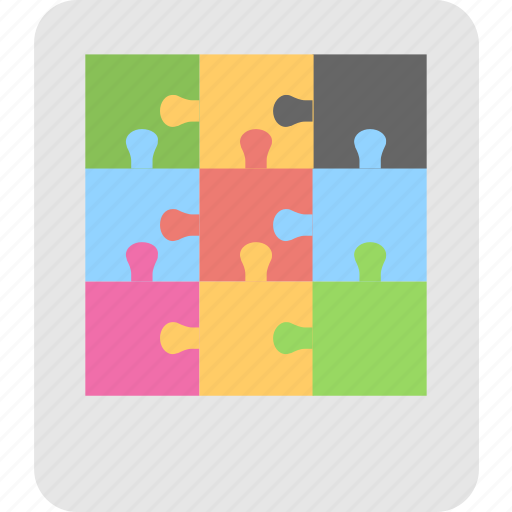 game, jigsaw, mind game, puzzle, puzzle piece icon