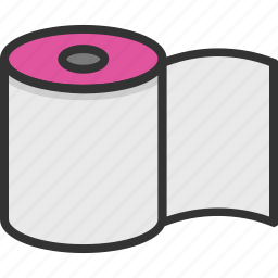 paper roll, tissue, tissue paper, tissue roll, toilet roll icon