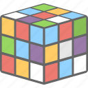 game, toy, puzzle, rubik, cubic