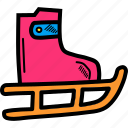 shoes, skate, skateboard, skating icon