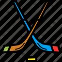 game, hockey, ice, puck, sports, stick