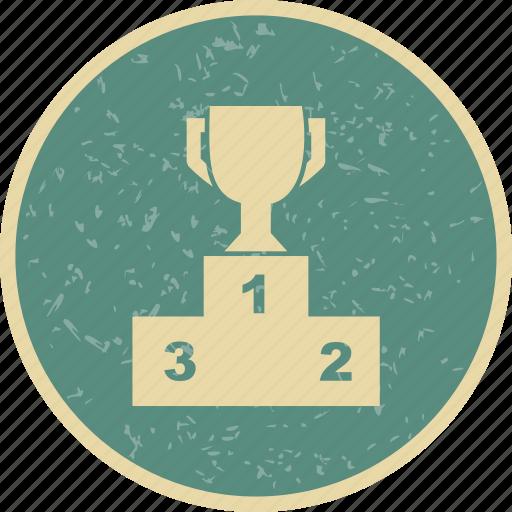 podium, winner, winners icon