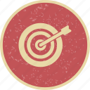 goal, strategy, target icon