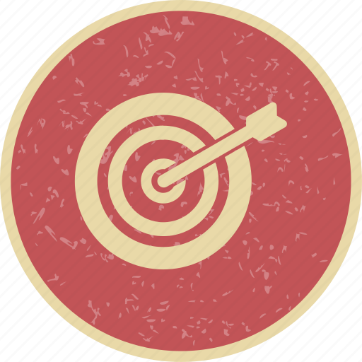 goal, strategy, target icon