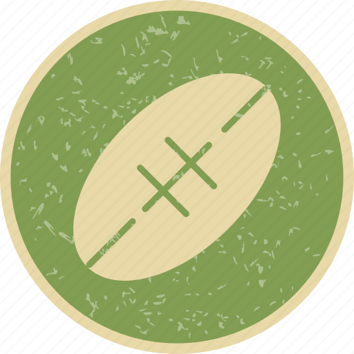 american football, rugby, rugby ball icon