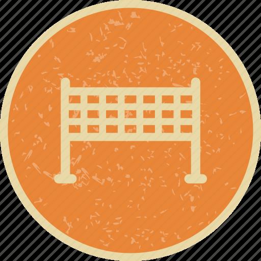 badminton, net, tennis icon