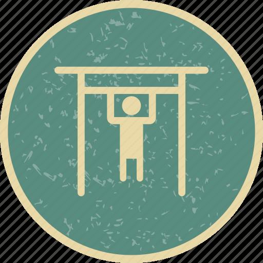 gym, handbar, handle bar icon