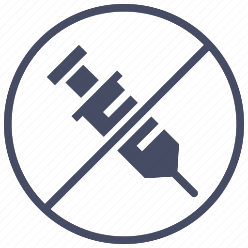 banned, drug, hormone, no, prohibited, steroid icon
