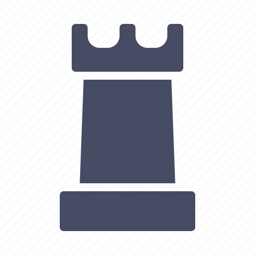 chess, piece, rook icon