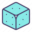casino, dice, gamble, gambling, luck, roll icon
