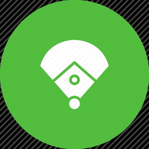 baseball, diamond, field, game, ring, sports icon
