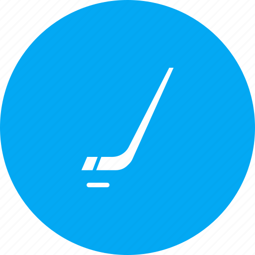 game, hockey, ice, puck, sports, stick icon