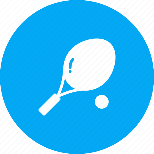 ball, game, racket, racquet, sports, tennis icon