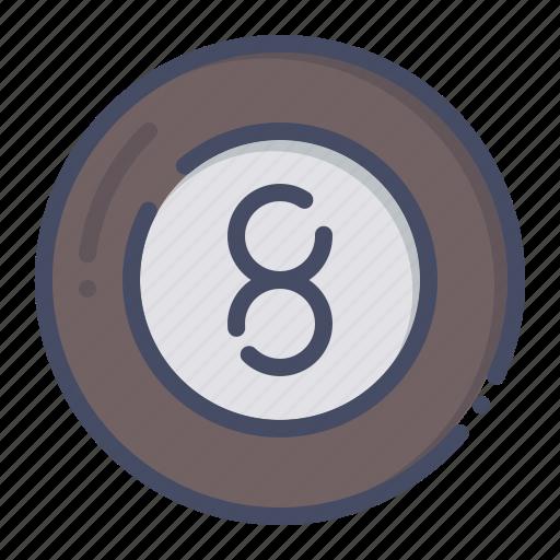 ball, billiards, eight, game, pool, snooker icon