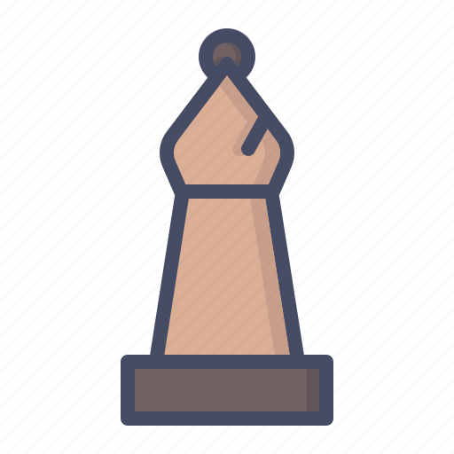 bishop, chess, piece icon
