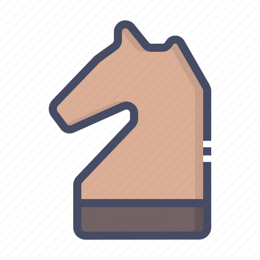 chess, knight, piece icon