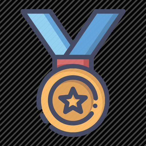 achievement, champion, honor, medal, prize, winner icon