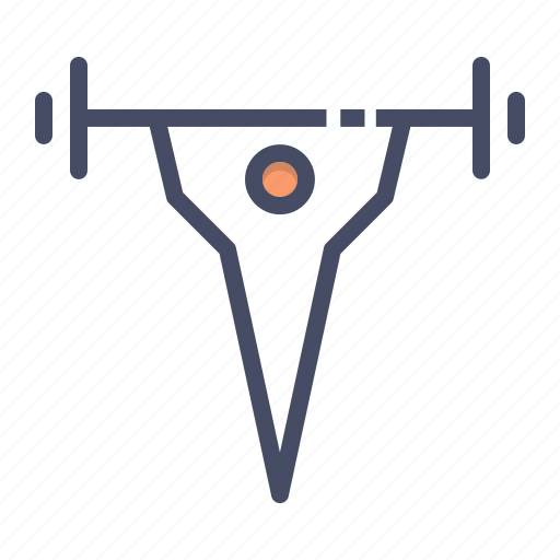 barbells, exercise, fitness, gym, lift, weight, weightlifting icon