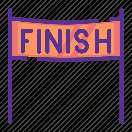 finish, line, race icon