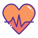 activity, fitness, health, heart, love, passion icon