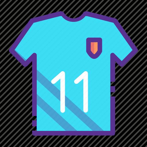 jersey, sports, team, wear icon
