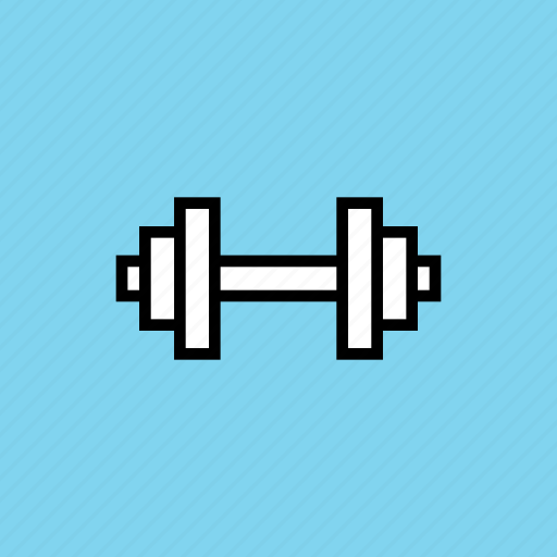 dumbbells, exercise, fitness, gym, workout icon