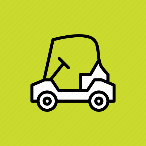 Car, cart, electric, golf, sports icon - Download on Iconfinder