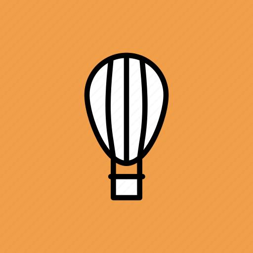 air, balloon, fly, parachute icon