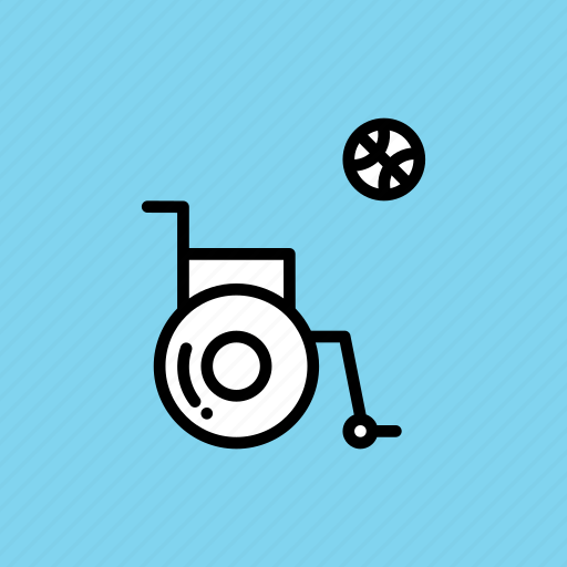 Basketball, disabled, games, handicapped, paralympic, paralympics icon - Download on Iconfinder