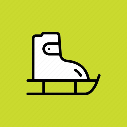 Skating, skate, skateboard, shoes icon