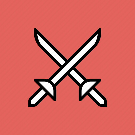 ammunition, fight, fighting, sword, weapon icon