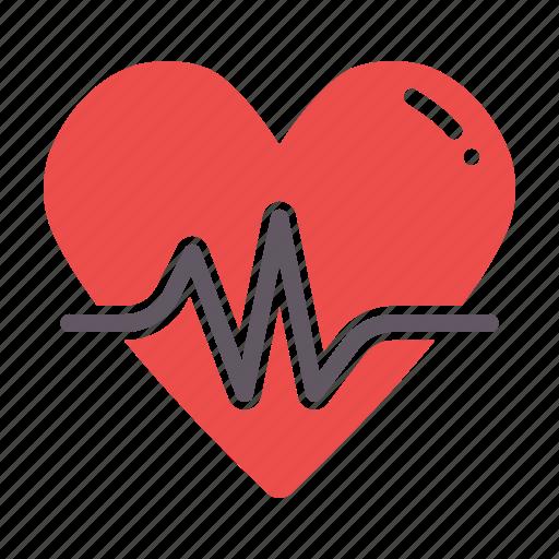 activity, fitness, health, heart, love, passion icon