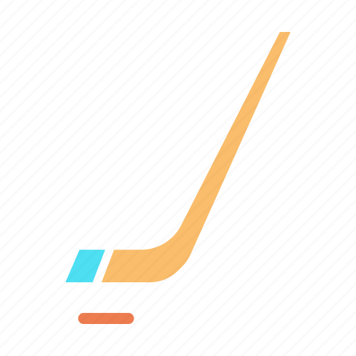 game, hockey, ice, puck, sports, stick icon
