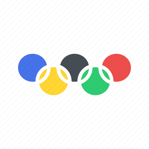 olympic, olympics, ring, rings, sports icon