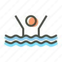 activity, exercise, pool, swim, swimming, water icon