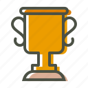 achievement, champion, prize, trophy, winner icon