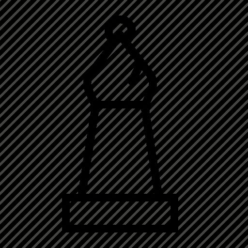 bishop, chess, piece icon