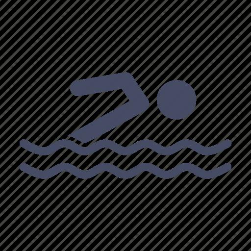 activity, pool, swim, swimming, water icon