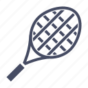 bat, game, play, racket, racquet, sport, tennis icon